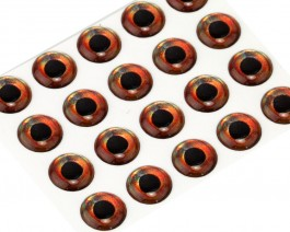 3D Epoxy Fish Eyes, Roach, 7 mm