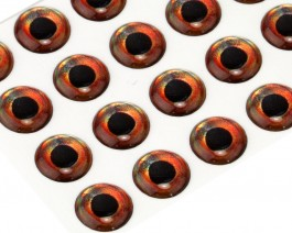 3D Epoxy Fish Eyes, Roach, 10 mm
