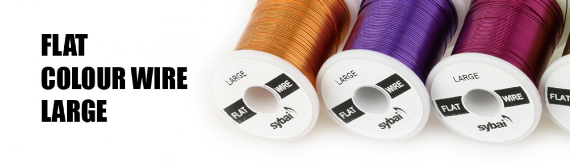 Flat Colouw Wire Large