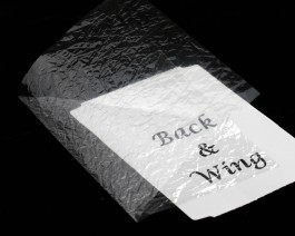 Fine Back & Wing Foil, Transparent