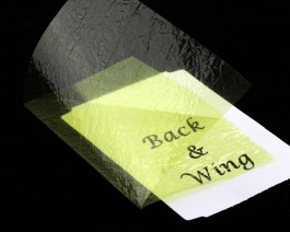 Fine Back & Wing Foil, Golden Olive