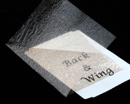 Fine Back & Wing Foil, Light Brown