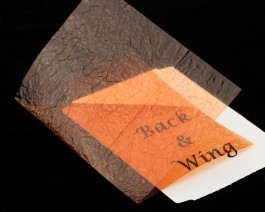 Fine Back & Wing Foil, Rust