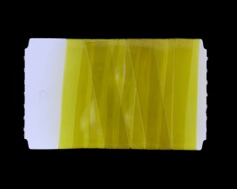 Stretch Glass, 10mm, Golden Olive