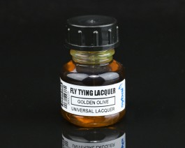 Fly Tying Lacquer, Golden Olive
