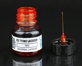 Fly Tying Lacquer, Red