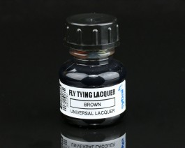 Fly Tying Lacquer, Brown