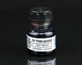 Fly Tying Lacquer, Fiery Brown