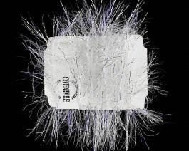 Sparkle Chenille, Silver UV
