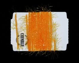 Chenille Vibrant, Fluo Yellow-Orange
