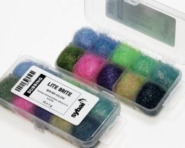 Lite Brite Dubbing, Box, New Mix Colors