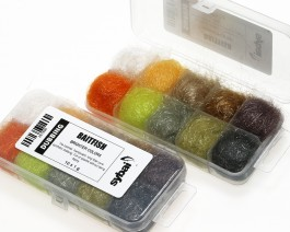 Baitfish Dubbing, Box, Brighter Colors