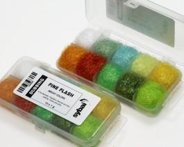 Fine Flash Dubbing, Box, Bright Colors