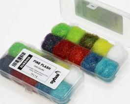 Fine Flash Dubbing, Box, Vivid Colors