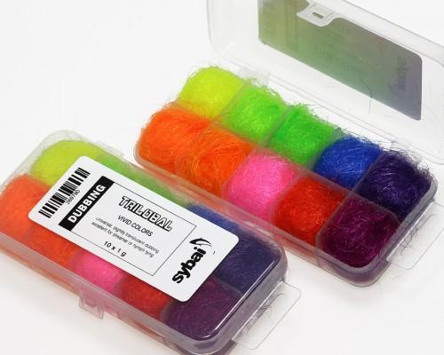 Trilobal Dubbing, Box, Vivid Colors
