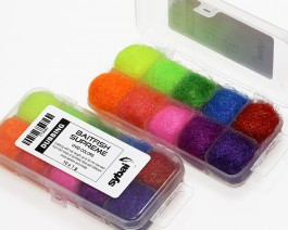 Baitfish Supreme Dubbing, Box, Vivid Colors