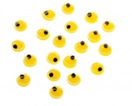 Floating Eyes, Yellow, 4 mm