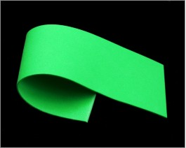 Razor Foam, Green, 1 mm