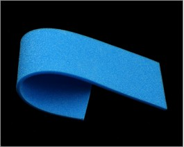 Sheet Soft Foam, Blue, 2 mm