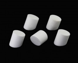 Foam Simple Popper, White, 18 mm