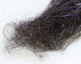 Flash Icelandic Sheep Hair, UV Black