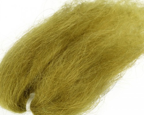 Lincoln Sheep Hair, Pale Olive