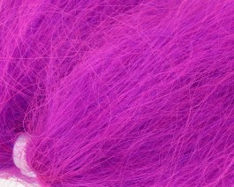 Lincoln Sheep Hair, Hot Purple