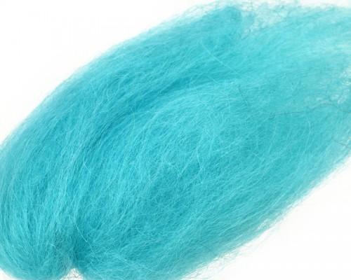 Lincoln Sheep Hair, Aquamarine