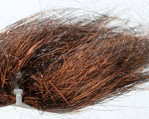 Angel Hair, Metallic Dark Copper Brown