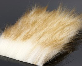 Craft Fur Medium, White Brandy Fox, 100x140 mm