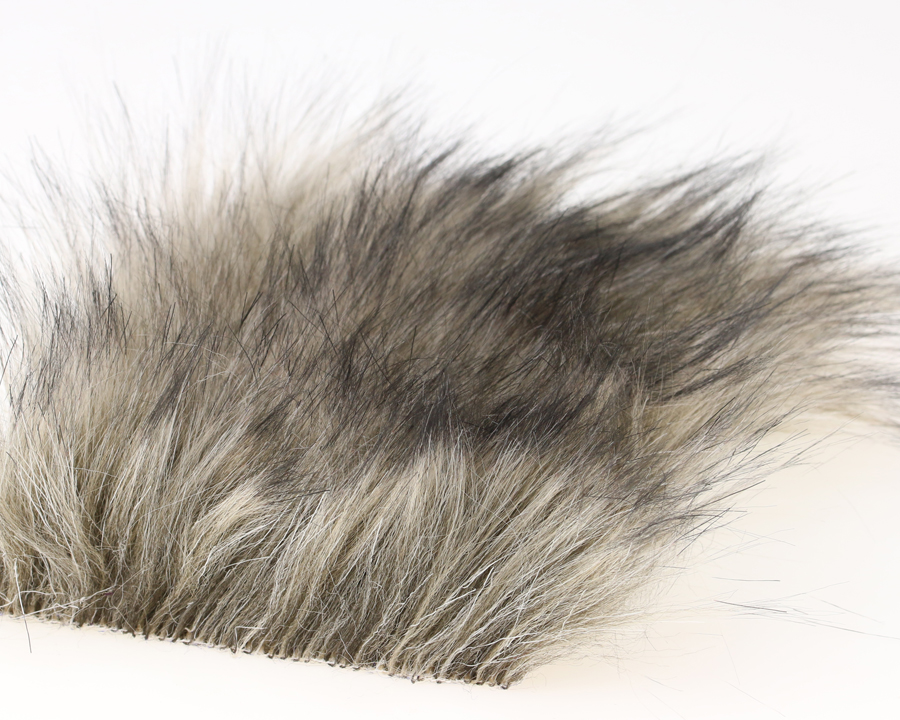 Craft fur medium dark beige fur 100x140 mm for Furry craft