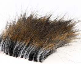 Craft Fur Medium, Natural Tanuki, 100x140 mm