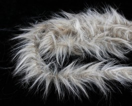 Furrybou Medium, Beige Fur, 150 cm
