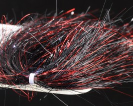 Saltwater Blend Angel Hair, Red Black