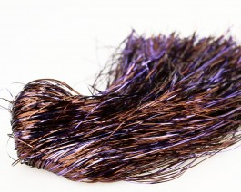 Tinsel Blend Hair, Violet Brown