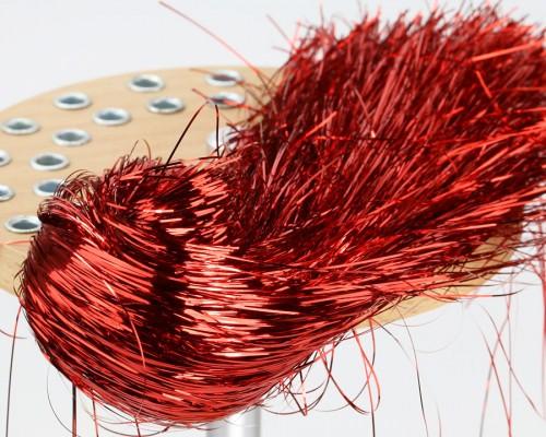 Tinsel Hair, Red