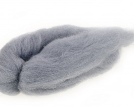 Trilobal Superfine Wing Hair, Light Gray