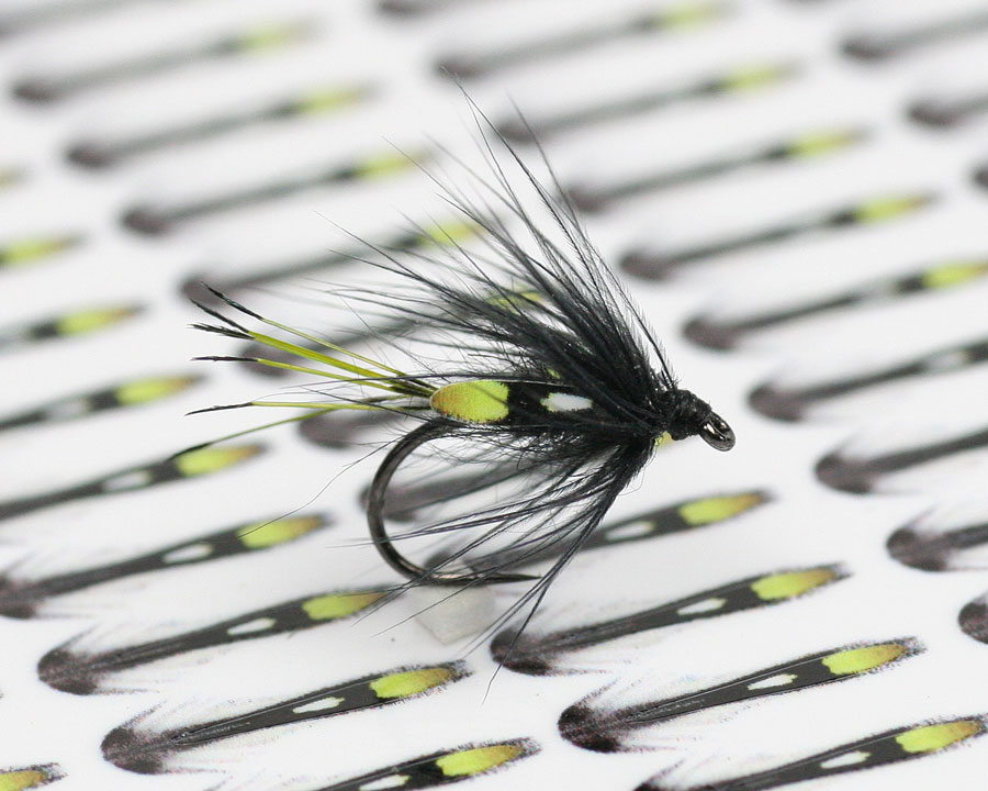 JUNGLE COCK SUBSTITUTE FEATHERS FOR FLY TYING GREEN