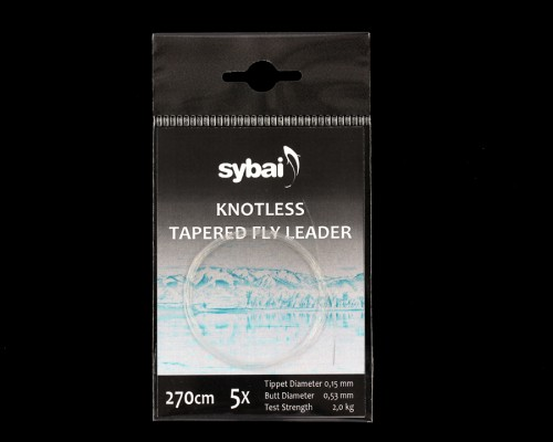 Tapered Leader 5X, 270 cm