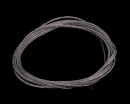 Braided Tubing, Large #6-10, Gray, 2 m