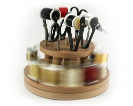 Fly Tying Tools and Spool Organizer