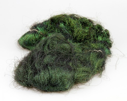 Crystal Flash Hair, Dark Peacock, BULK