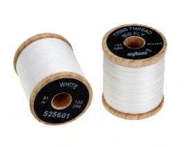 Tying Thread Big Fly, White