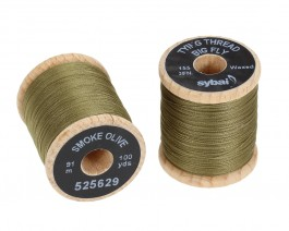 Tying Thread Big Fly, Smoke Olive