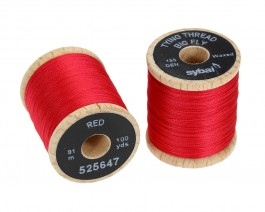 Tying Thread Big Fly, Red