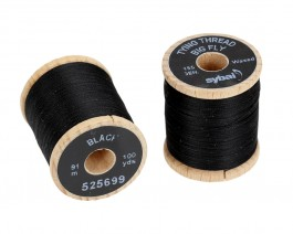 Tying Thread Big Fly, Black