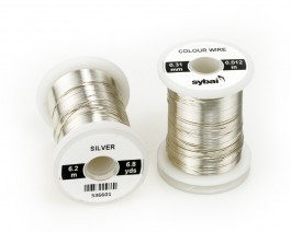 Colour Wire, 0.31 mm, Silver