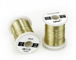 Colour Wire, 0.31 mm, Gold