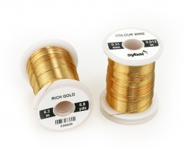 Colour Wire, 0.31 mm, Rich Gold