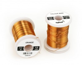 Colour Wire, 0.31 mm, Orange